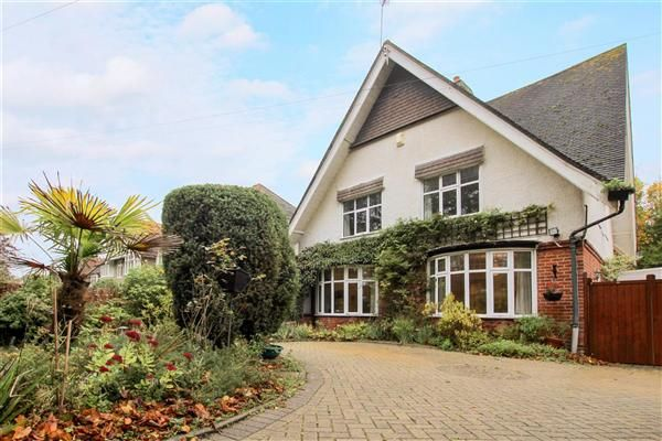 Thumbnail Detached House For Sale In Carbery Avenue Southbourne Bournemouth