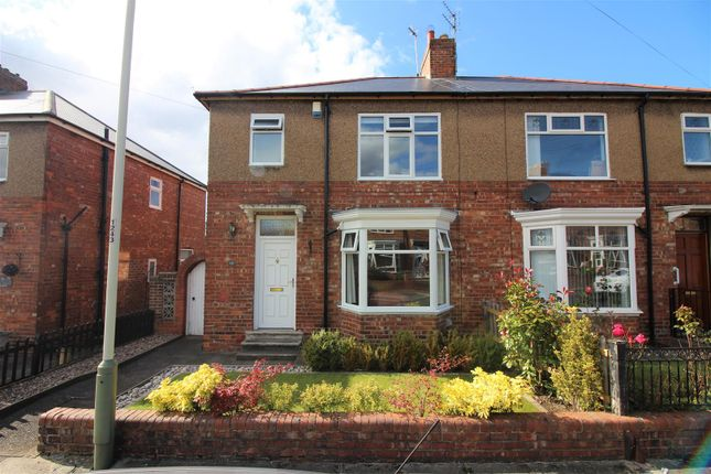 Thumbnail Semi-detached house for sale in Newlands Road, Darlington