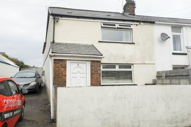 Thumbnail Semi-detached house for sale in Amos Hill, Penygraig, Tonypandy