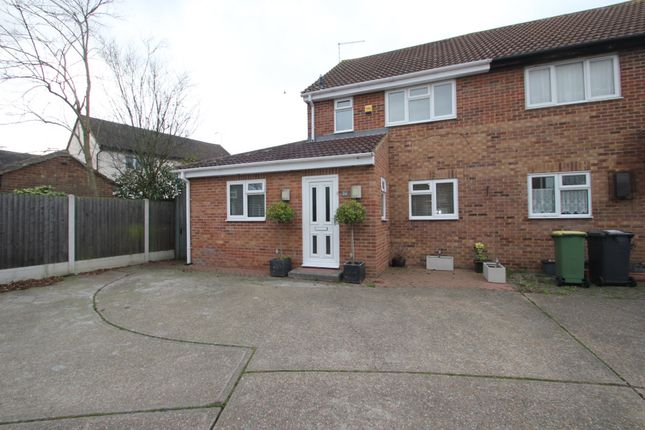 Thumbnail Semi-detached house for sale in Westminster Drive, Hockley