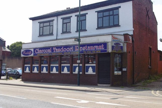 Thumbnail Restaurant/cafe to let in 123-125 Blackburn Street, Radcliffe, Manchester