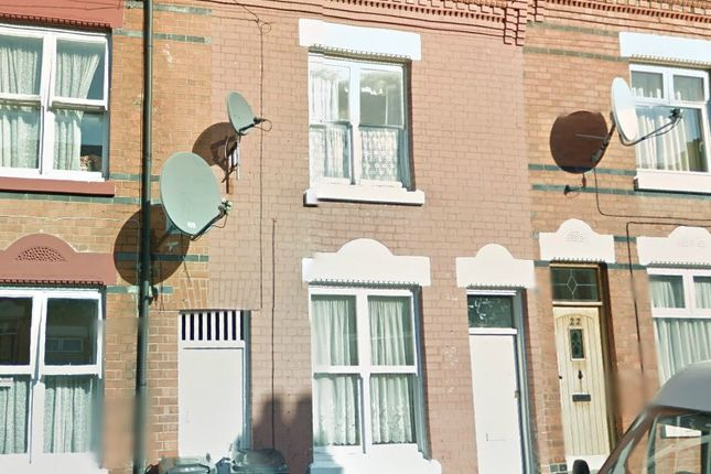 Thumbnail Terraced house to rent in Duffield Street, Highfields, Leicester