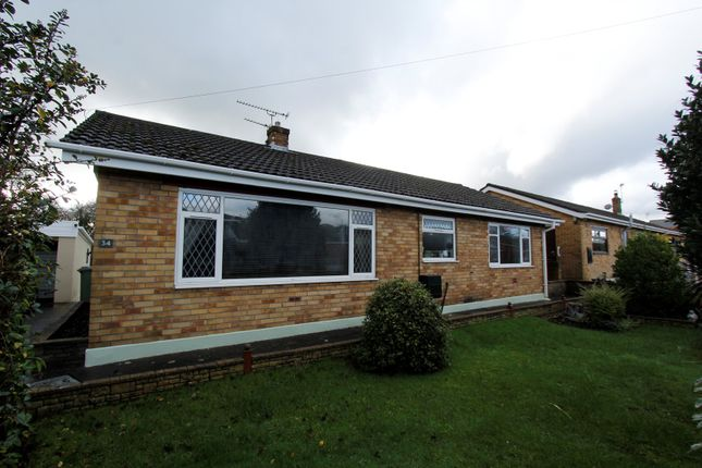 Thumbnail Detached bungalow for sale in Woodlands Park, Kenfig Hill