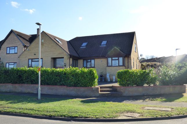 Thumbnail Bungalow for sale in Hillgrounds Road, Kempston, Bedford