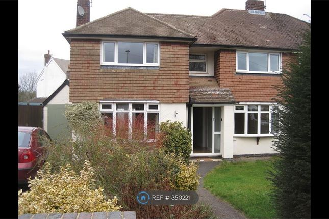 Thumbnail Semi-detached house to rent in Branting Hill Avenue, Glenfield