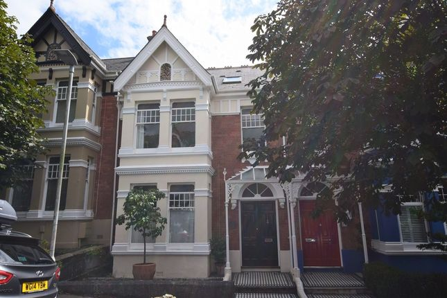 Thumbnail Terraced house for sale in Burleigh Park Road, Plymouth