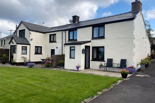 Thumbnail Semi-detached house for sale in Llewellyns Row, Llanelly Hill, Abergavenny