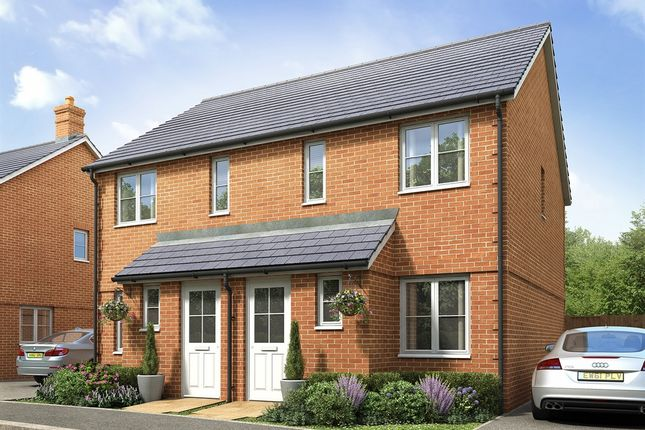 """Thumbnail End terrace house for sale in """"The Alnwick """" at Princess Gardens, Grove, Wantage"""