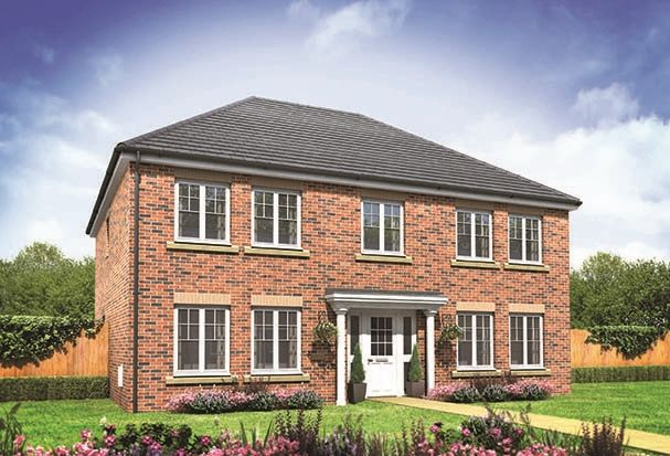 "Thumbnail Detached house for sale in ""The Portland"" at Donaldson Drive, Brockworth, Gloucester"