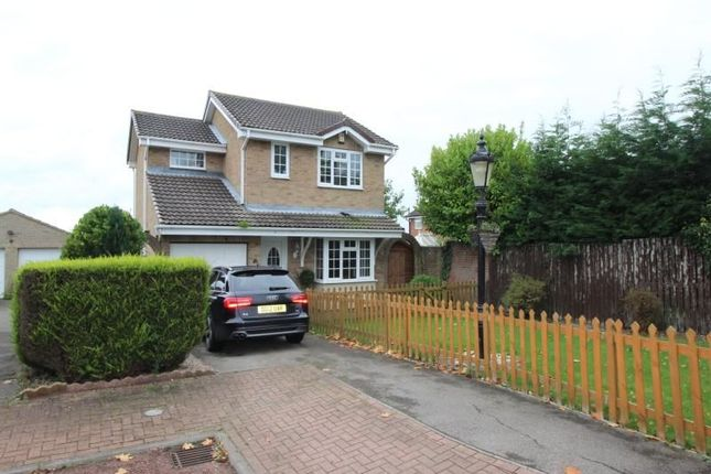 Thumbnail Detached house for sale in Meadow Dale, Chilton, Ferryhill