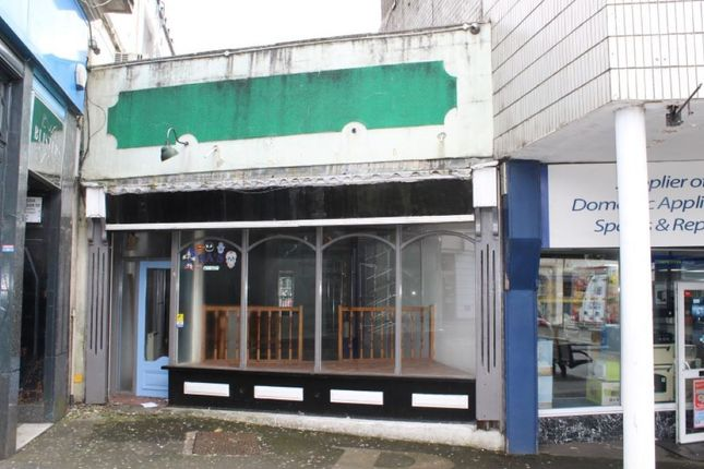 Thumbnail Retail premises for sale in 26 High Street, Bargoed, Mid Glamorgan