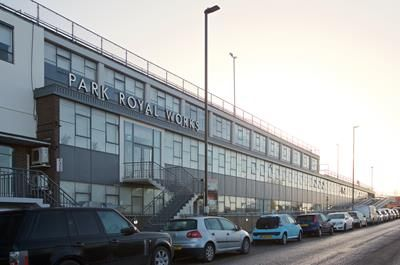 Office to let in Park Royal Works, Acton