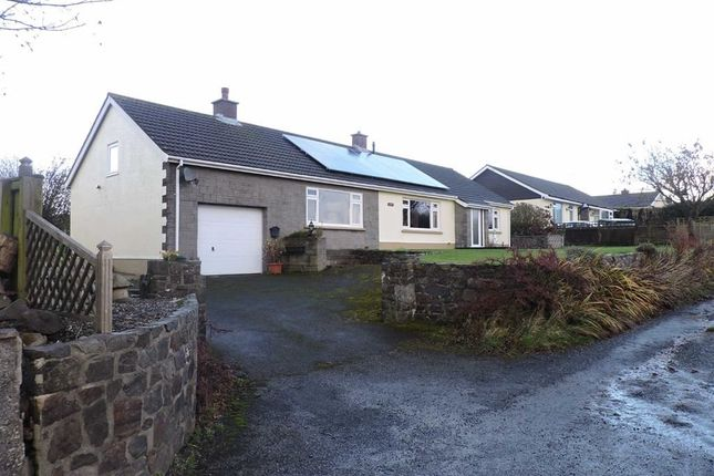 Thumbnail Detached bungalow for sale in Ludchurch, Narberth, Pembrokeshire