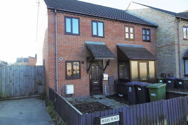Thumbnail End terrace house to rent in Rules Place, Great Whyte, Ramsey, Huntingdon