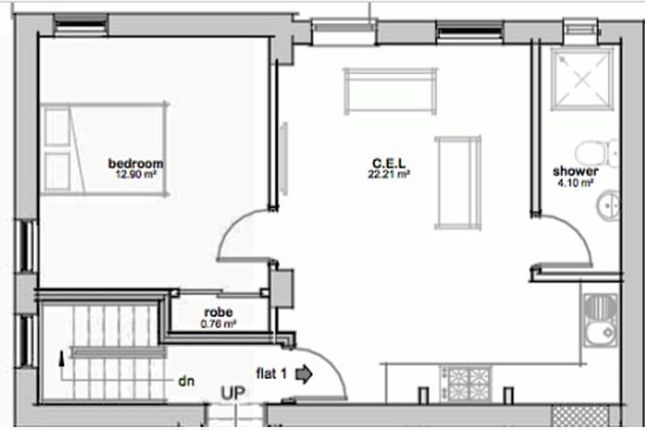 Thumbnail Flat to rent in Spalding