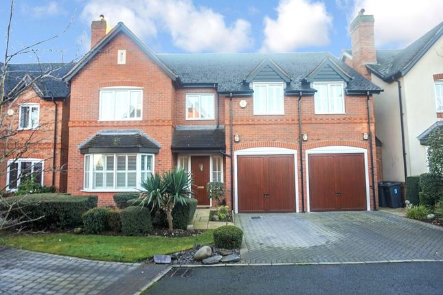 Thumbnail Detached house for sale in Thimble Drive, Walmley, Sutton Coldfield