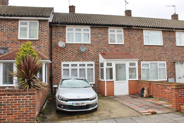 Thumbnail Terraced house for sale in Edington Road, Abbeywood, London