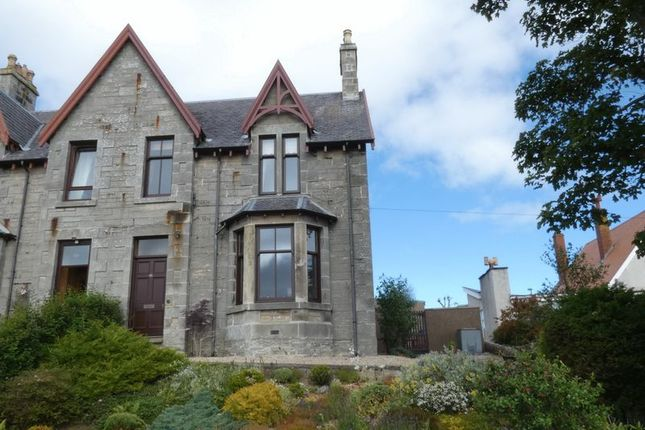 Thumbnail Semi-detached house for sale in Rose Street, Thurso