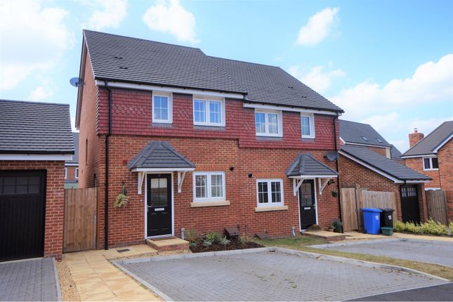 Thumbnail Semi-detached house for sale in Warbler Road, Farnborough