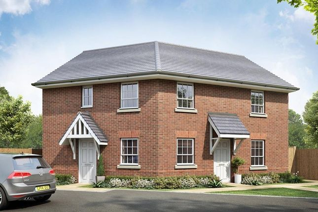 "Thumbnail Detached house for sale in ""Hadleigh"" at Beggars Lane, Leicester Forest East, Leicester"
