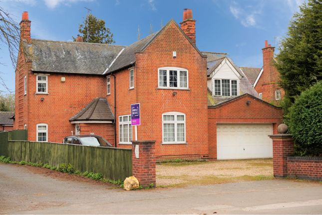 Thumbnail Detached house for sale in Groby Road, Leicester