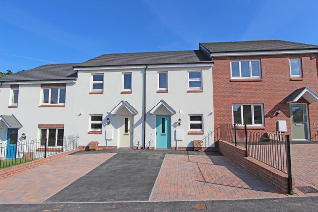 2 bed terraced house for sale in Plot 13, Bowling Green View, Cullompton, Devon