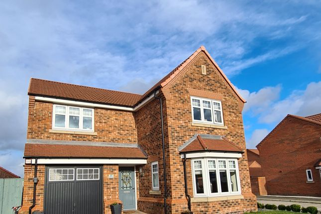 Thumbnail Detached house for sale in Longwall Road, Pontefract