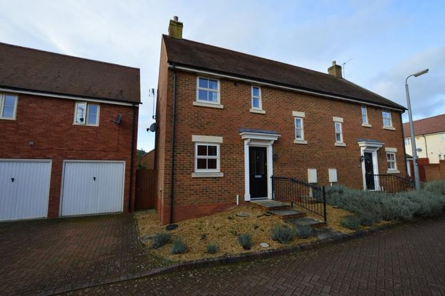 Thumbnail Semi-detached house to rent in Wagstaff Way, Olney