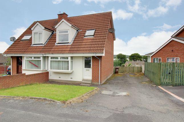 Thumbnail Semi-detached house for sale in Penrhyn Park, Newtownards