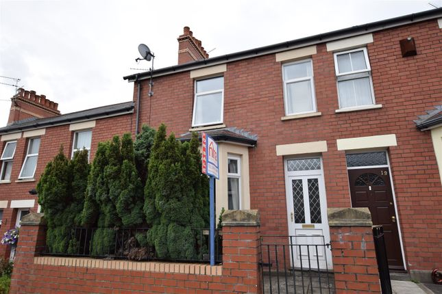 Terraced house for sale in Beatrice Road, Barry