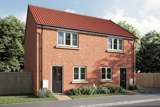 """2 bed terraced house for sale in """"The Harcourt"""" at Dunlin Drive, Scunthorpe DN16"""