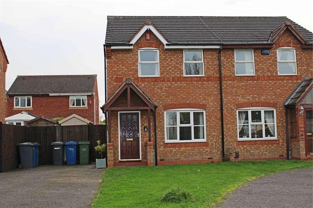 Thumbnail Semi-detached house to rent in Bracklesham Way, Amington Fields, Amington, Tamworth, Staffordshire