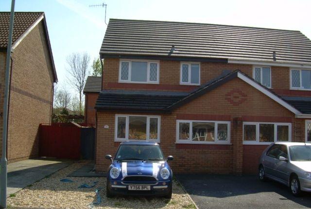 Thumbnail Semi-detached house to rent in Clos Ty Gwyn, Gowerton, Swansea.