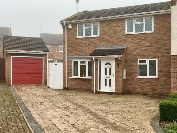 3 bed semi-detached house for sale in Chelsea Close, Glen Parva, Leicester, Leicestershire LE2