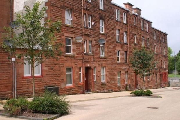 Thumbnail Flat for sale in Maxwell Street, Port Glasgow, Inverclyde