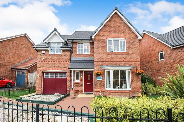 Thumbnail Detached house for sale in Glasson Rectory Lane, Standish, Wigan