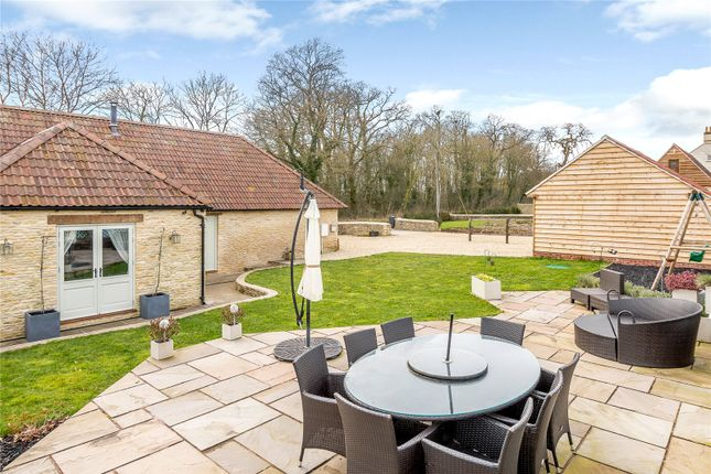 Thumbnail Detached house for sale in Nettleton, Wiltshire