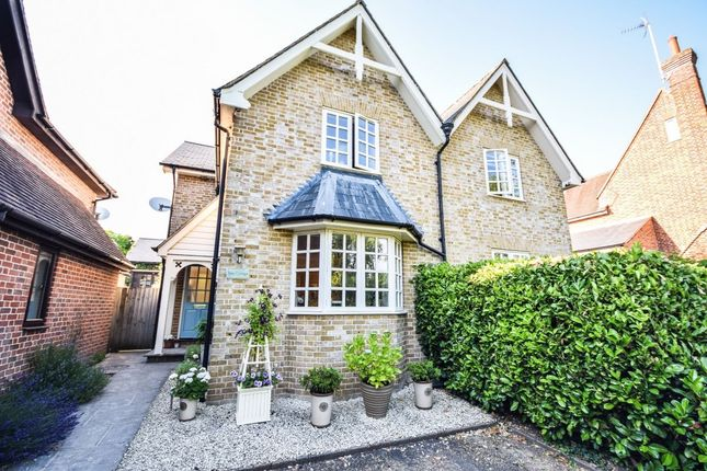 Thumbnail Semi-detached house for sale in Wicken Bonhunt, Saffron Walden