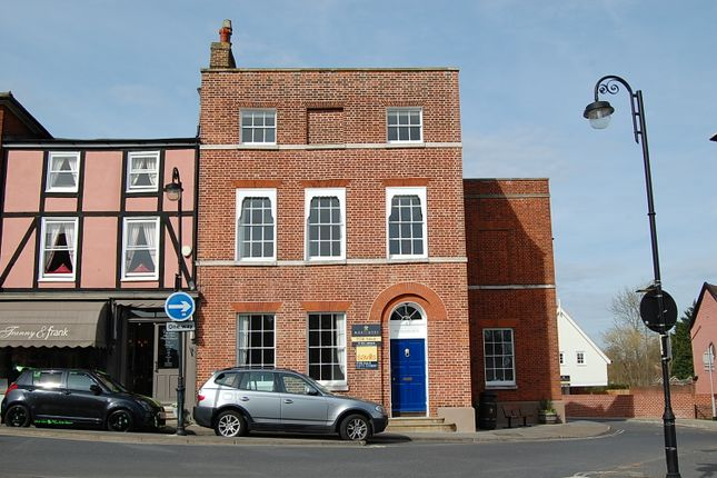 Thumbnail Town house for sale in Market Hill, Woodbridge