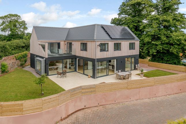Thumbnail Detached house for sale in Courtlands Lane, Lympstone, Exmouth, Devon