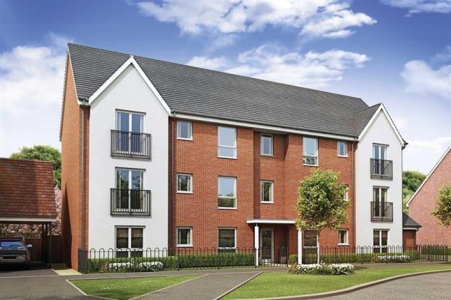 Thumbnail Flat for sale in Oakbrook San Andres Drive, Newton Leys, Bletchley, Milton Keynes