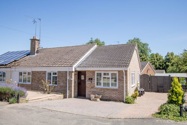 Thumbnail Semi-detached bungalow for sale in Church Walk, Littlebury, Saffron Walden