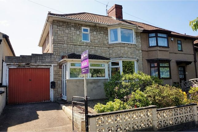 Thumbnail Semi-detached house for sale in Lower High Street, Shirehampton Village
