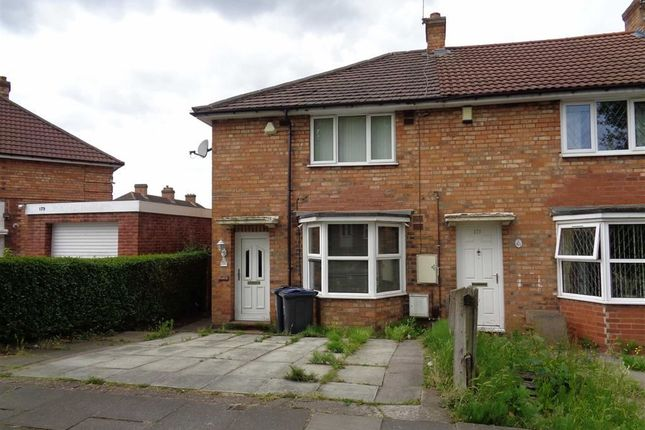 Thumbnail Flat for sale in 177 Fieldhouse Road, Yardley, Birmingham