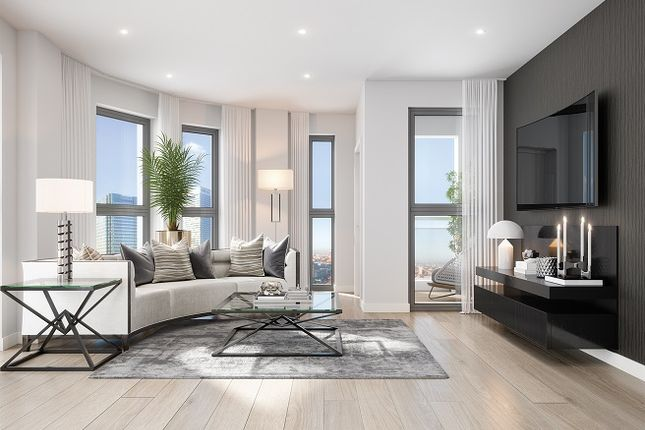Thumbnail Flat For Sale In Manhattan Plaza 10 Prestons Road Poplar London