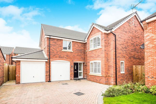 Thumbnail Detached house for sale in Beeby Way, Broughton, Chester