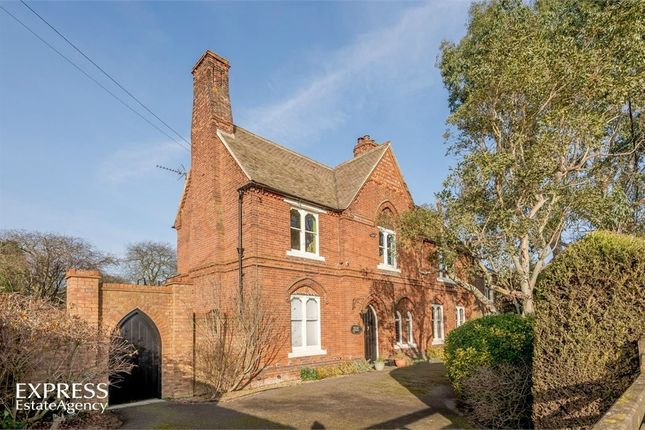 Thumbnail Detached house for sale in Rectory Road, Outwell, Wisbech, Norfolk