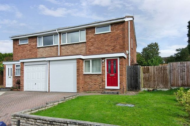 Thumbnail Semi-detached house to rent in Avon Road, Chasetown, Burntwood