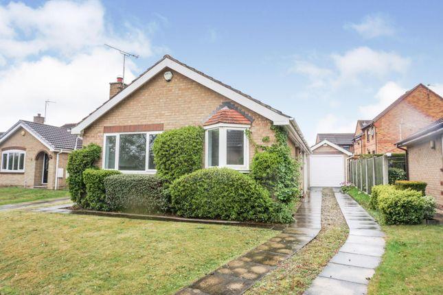 Thumbnail Detached bungalow for sale in Sunningdale Close, Bessacarr, Doncaster