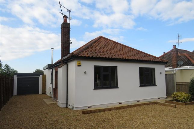 Thumbnail Detached bungalow for sale in Sandy Lane, Fakenham